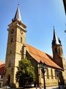 średniowieczny kościół w oehringen niemcy Obrazy Royalty Free