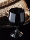 Żelazny wine-glass Zdjęcie Stock