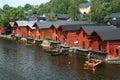 αποθήκες εμπορευμάτων porvoo Στοκ φωτογραφίες με δικαίωμα ελεύθερης χρήσης