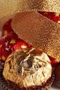 εορταστικά γλυκά σύνθεσης Στοκ Εικόνα