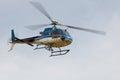 ε ικόπτερο ecureuil as b κατά την πτήση Στοκ Φωτογραφίες