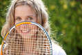image photo : Female tennis player