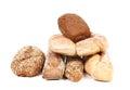 ιαφορετικοί τύποι ψωμι omic Στοκ Εικόνες