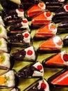 κέικ τριγώνων Στοκ εικόνες με δικαίωμα ελεύθερης χρήσης