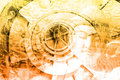 καλλιέργεια κολάζ της Α Στοκ εικόνες με δικαίωμα ελεύθερης χρήσης
