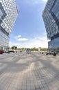 κεντρικός τετραγωνικός πύργος Στοκ εικόνες με δικαίωμα ελεύθερης χρήσης