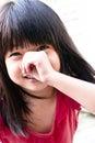 κορίτσι εύθυμο Στοκ Φωτογραφίες