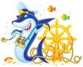 Κυβερνήτης Shark Στοκ φωτογραφία με δικαίωμα ελεύθερης χρήσης