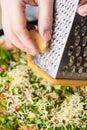 μαγείρεμα της πίτσας Στοκ Φωτογραφία