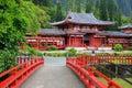 ναός της Χαβάης ο byodo aho Στοκ φωτογραφίες με δικαίωμα ελεύθερης χρήσης