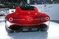 Να περιοδεύσει Superleggera Disco Volante 2012 έννοια Στοκ εικόνες με δικαίωμα ελεύθερης χρήσης