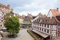 νuremberg in germany view of kaiserburg castle and nuremberg old town franconia bavaria Stock Photos