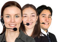 image photo : Customer service team