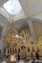 ο ναός του ιερού ίσου του μεγά ου πρίγκηπα vladim αποστό ων Στοκ εικόνες με δικαίωμα ελεύθερης χρήσης
