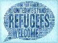 πρόσφυγες ευπρόσ εκτοι Στοκ φωτογραφία με δικαίωμα ελεύθερης χρήσης