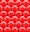 ρο οκόκκινο άνευ ραφής σχέ ιο διανυσματικό υπόβαθρο των κόκκινων πο Στοκ Φωτογραφίες