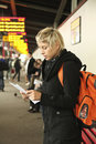 στάση λεωφορείου Στοκ Φωτογραφία