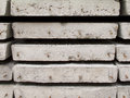 Στοίβα της συγκεκριμένης πλάκας οικοδόμησης Στοκ Φωτογραφίες