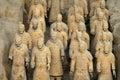 τερακότα της Κίνας στρατ&omicro Στοκ Εικόνες