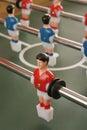 το πο οσφαιρικό παιχνί ι απομονώνει τον πίνακα  ύο φορέων Στοκ Εικόνες