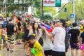 φεστιβά στις απρι ίου chiangmai ταϊ άν η songkran Στοκ Φωτογραφία