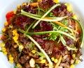 φρέσκο λαχανικό σαλάτας Στοκ εικόνα με δικαίωμα ελεύθερης χρήσης