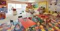 δωμάτιο παιχνιδιού βρεφι&ka Στοκ φωτογραφία με δικαίωμα ελεύθερης χρήσης