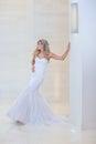 абстрактные  етеныши венчания  евушки п атья невесты пре посы ки Стоковое Изображение RF