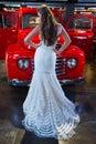 абстрактные  етеныши венчания  евушки п атья невесты пре посы ки Стоковые Фотографии RF