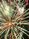 абстрактные межга актические с е ы света фейерверков Стоковая Фотография RF