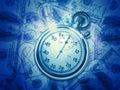 Абстрактные финансовохозяйственные предпосылки Стоковое Изображение RF