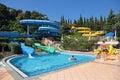аквапарк Стоковая Фотография RF