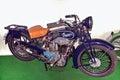 античный брен praga bd мотоцик а ccm музей мотоцик а Стоковое Изображение