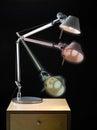 Артикулированный светильник офиса Стоковые Фото