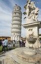 башня ск онности пиза тоскана ита ия европа Стоковые Фотографии RF