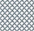 Безшовная текстура Chainmail Стоковые Изображения