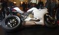 бе ый мотоцик Стоковое Изображение