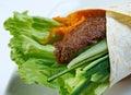 буррито завтрака Стоковое Изображение