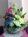 вектор изображения цветка букета яркий Стоковая Фотография