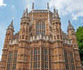взгляд westminster london аббатства необыкновенный Стоковое Изображение