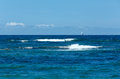 взг я  ета моря от п яжа греции  ефкас ionian море Стоковое Изображение RF