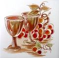 виногра ины Стоковые Фото