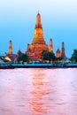 война thailandia bangkok arun Стоковая Фотография RF