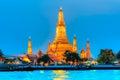 война thailandia bangkok arun Стоковые Изображения RF