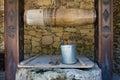 во яная скважина в moldovian  еревне Стоковые Фотографии RF