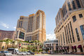 гостиница и казино palazzo Стоковые Изображения RF