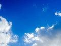 го убое небо Стоковое фото RF
