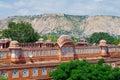 дворец hawa mahal в джайпуре ра жастхане Стоковые Изображения RF