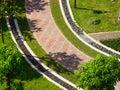 Дорожка сада Стоковые Изображения RF