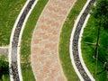 Дорожка сада Стоковая Фотография RF
